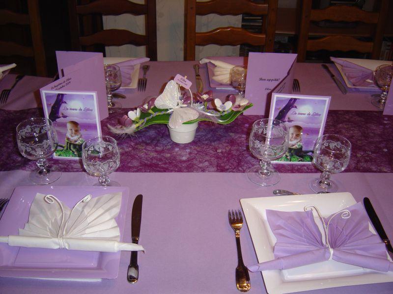 Livre d or drag es fleurs for Decoration de table pour bapteme fille